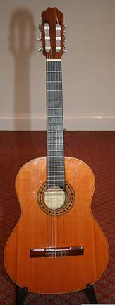 Requinto - Tuned to a perfect 4th higher than the standard guitar